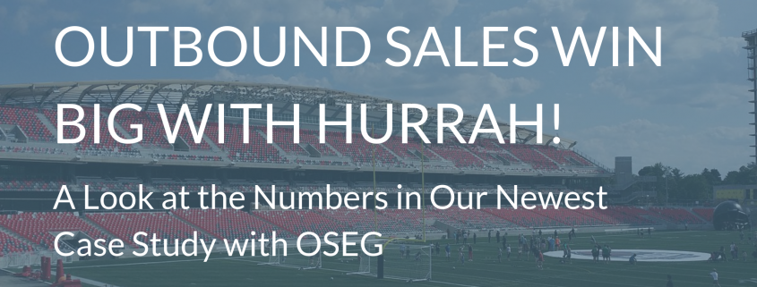 New Case Study with OSEG Sales Results